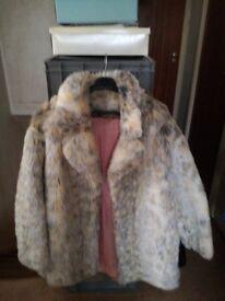 Arctic fox coat