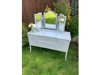 *** vintage shabby chic dressing table *** delivery available