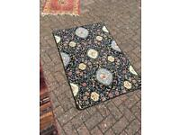 Colourful floral rug