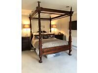 Mahogany *FOUR POSTER BED* for sale