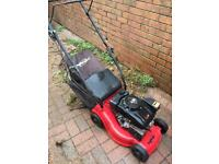 2 petrol lawnmowers spares or repair