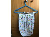 Baby bag for bibs or nappies