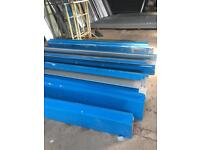 Galvanised barge boards 3mtrs long to clear £8 each doncaster