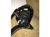 Nikon D3200 DSLR Camera (with DSLR Bag and Remote)