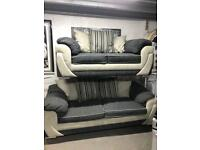 Scs 3 +2 seater sofa set in perfect condition and includes delivery £349