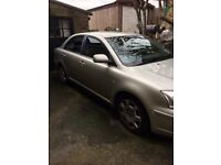 Toyota avensis 1.8 Vvti 4 door saloon low mileage for the year