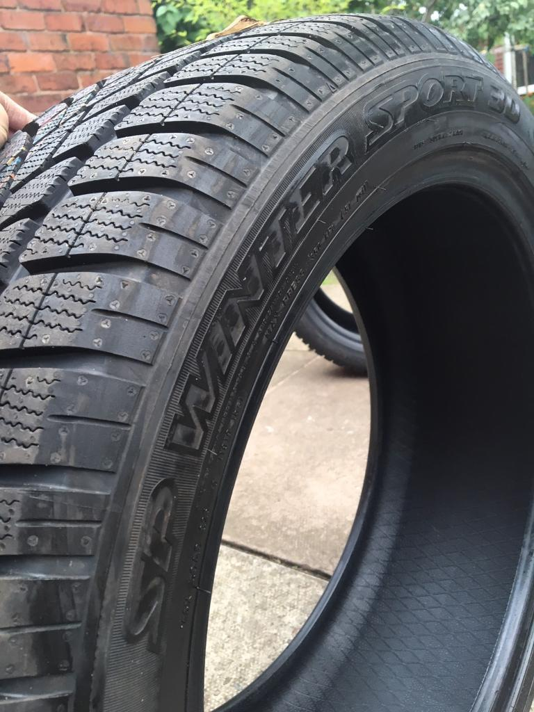 Tyres car-20 inch/255/40/20 & 255/45/20-new Dunlop sports