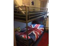 Bunk bed - silver - ikea