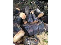 Free logs/wood - cut into pieces