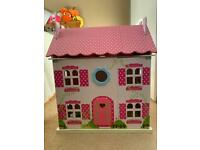 Children's Toy Wooden Dolls House
