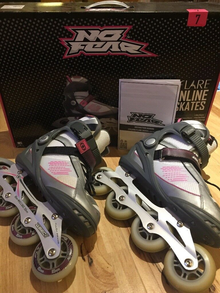 No Fear In-line Skates/Rollerblades Ladies 7