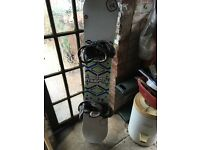 152 K2 World Wide Weapon Snowboard with Bindings