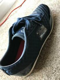 Firetrap Navy trainers - size 8 men