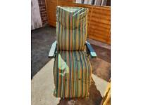 Garden chair/Sun lounger