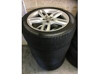 SEAT OF 4 AUDI / VW ALLOYS 245/45/18 **FIRST £195**