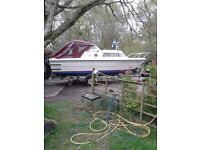 20ft Cabin Cruiser with trailer