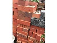 Red bricks (free approx 120)