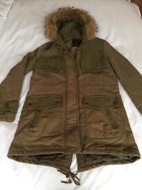 New Look Parka Coat - Size 8