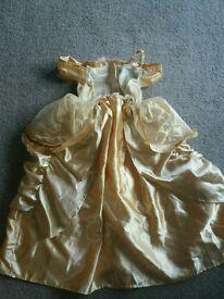 Belle fancy dress age 5-8