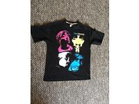 Hip hop 2pac man shirt