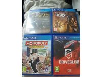 Ps4 gamea bundle