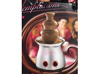 Chocolate fountain lovely condition hardly used