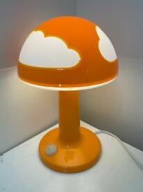 Child's Orange Cloud light