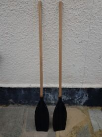Pair of light duty paddles made by Westcombe Mfg. Co Ltd..