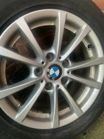 "BMW 16"" Alloys with tyres// 250 Ono"