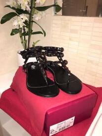 Valentino Rock stud sandals - real leather