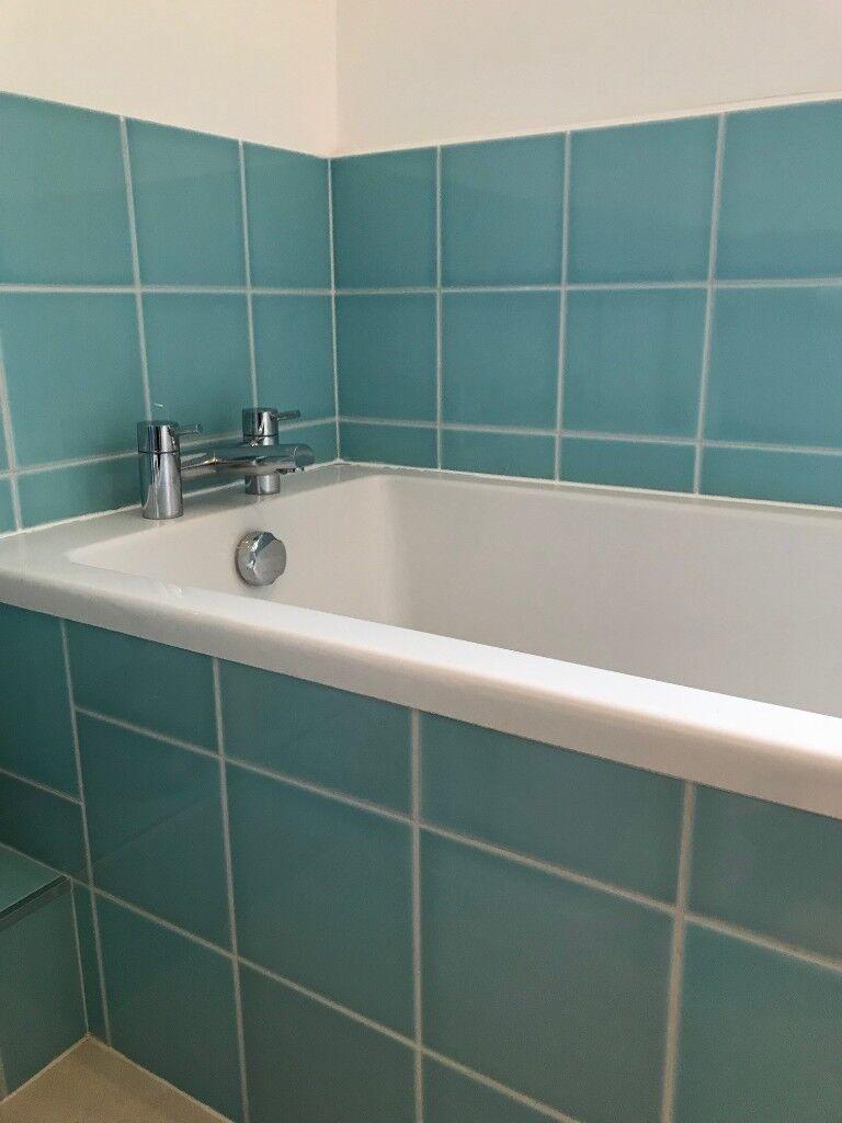 Villeroy & Boch Blue Ceramic Wall Tiles 12.5sqm leftover from ...