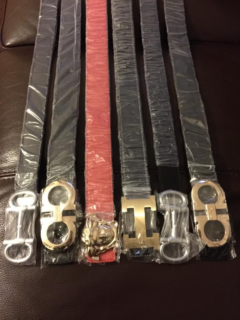 Mens Designer Leather Belts Uk