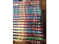 DOCTOR WHO DVD JOB LOT 16 DVD'S