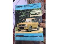 Mini cooper workshop manual 148
