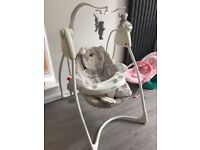 Graco bear and friends baby swing