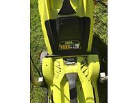 Ryobi 1250w electric lawnmower