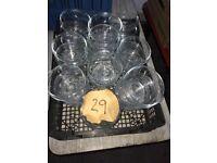 Glass Dessert/Starter Bowls