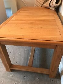French Oak Dining Table - very good condition