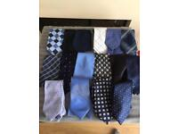 Men's ties mostly vintage.