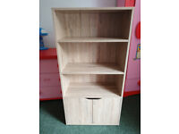Book Shelf/Case with cupboard
