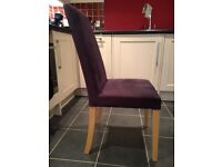 Dining chairs - set of 6 - £15 each