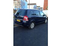 Uber Ready PCO Car/Minicab For Sale,2011 Vauxhall Zafira 1.7 Diesel manual 7 SeaterPco Car Sale