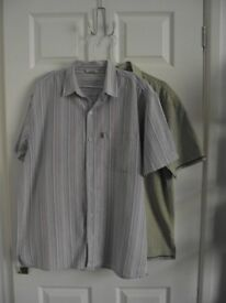 2 Fat Face Mens summer short sleeve shirts