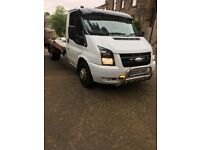 Transit recovery truck 2009 alloy light body slide away ramps mot jan 19 drives excellent no faults