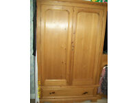 SOLID PINE BEDROOM FURNITURE (ADULTS)