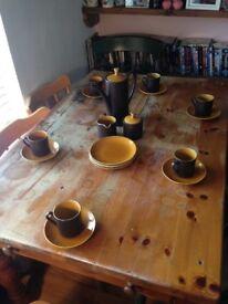 Beautiful retro kitsch tea set