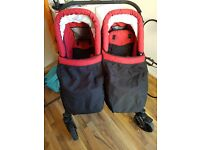 Twin travel system..excellent condition suitable from birth
