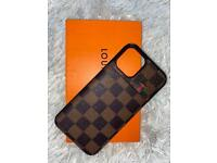 Lv iphone 12 pro max hard case with card holder
