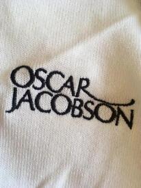 Oscar Jacobson Golf slipover - white (new)