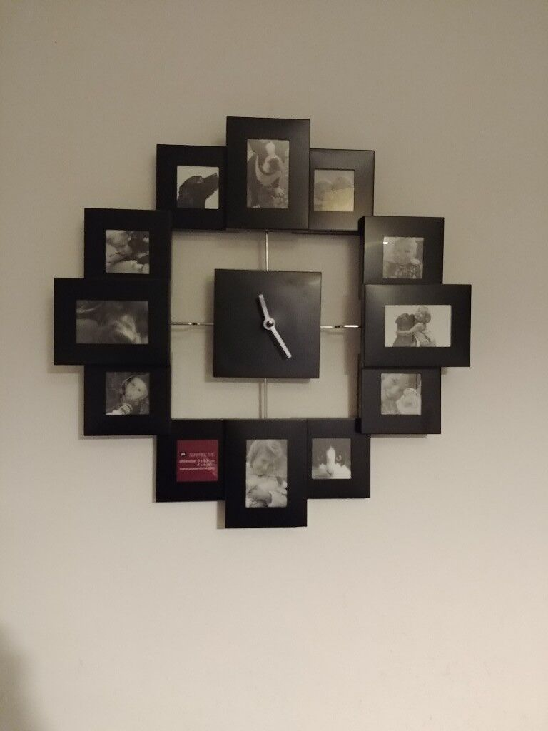 Wall Clock Frame With Individual Little Frames In Southampton